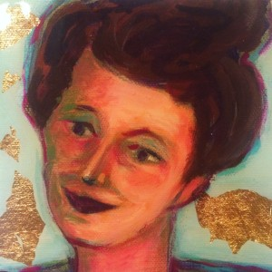 Portrait Susan Saward by Artist Ann Cox Strub